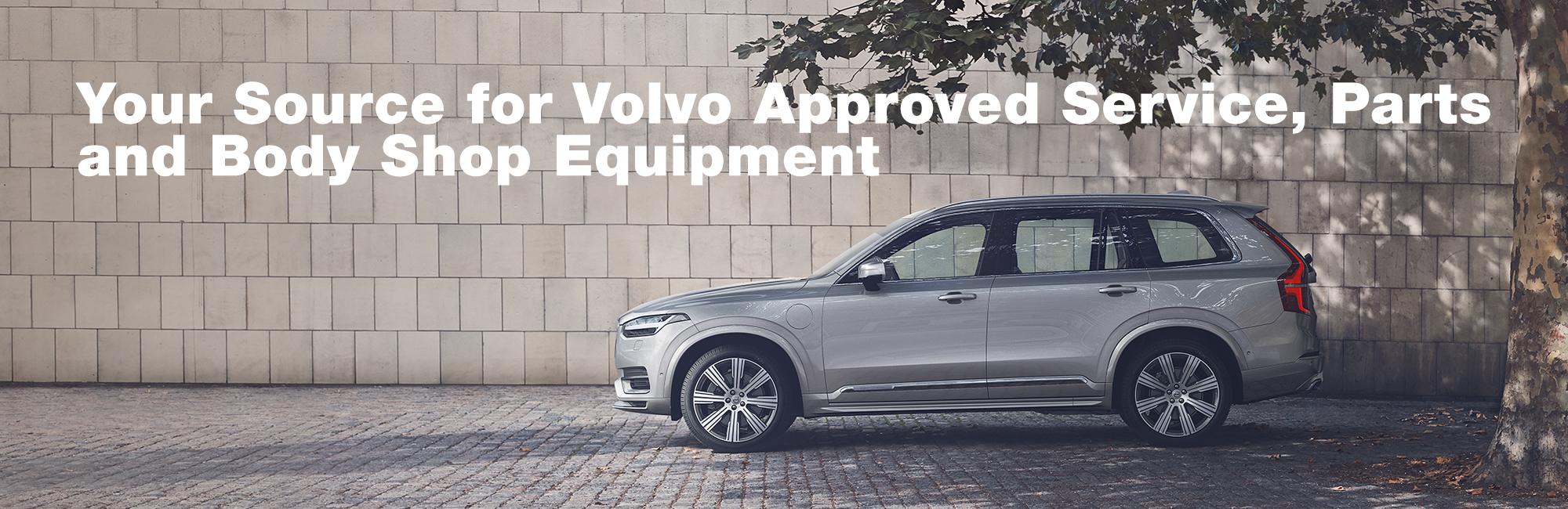 A Volvo car in profile